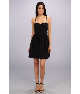 Amanda Uprichard Mimosa Dress Womens Dress (Black)