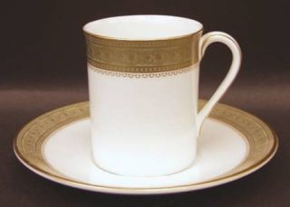 Royal Doulton Belvedere Flat Demitasse Cup & Saucer Set, Fine China Dinnerware