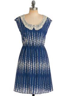 Lapis Lace uli Dress  Mod Retro Vintage Printed Dresses