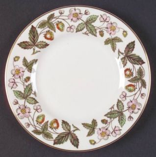 Wedgwood Strawberry Hill Bread & Butter Plate, Fine China Dinnerware   Strawberr