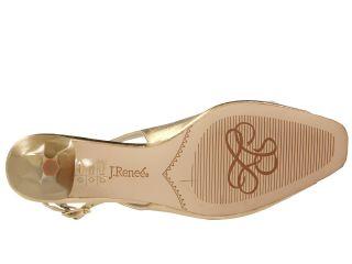 J. Renee Classic 14k Gold Metallic Nappa Leather