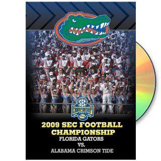 Florida Gators vs. Alabama Crimson Tide 2009 SEC Football Championship DVD   Football Apparel  Sports & Outdoors