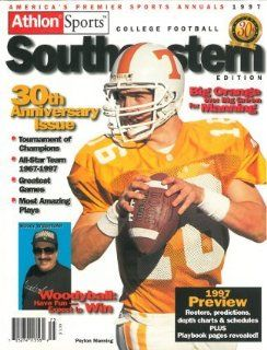 Athlon Sports 1997 College Football Southeastern (SEC) Preview Magazine  Tennessee Volunteers w/ Peyton Manning: Sports & Outdoors