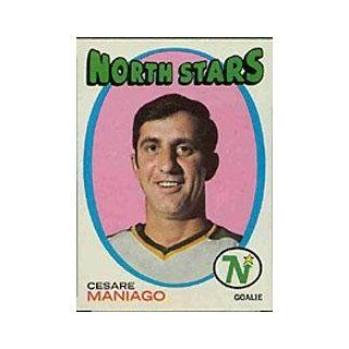 1971 72 Topps #117 Cesare Maniago   NM at 's Sports Collectibles Store