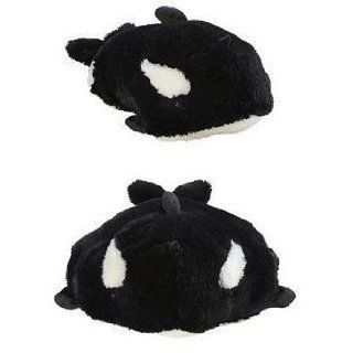 My Pillow Pets Splashy Whale   Large (Black And White): Toys & Games