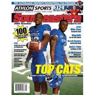 Athlon Sports 2012 College Football Southeastern (SEC) Preview Magazine  Kentucky Wildcats Cover: Athlon Sports: Books