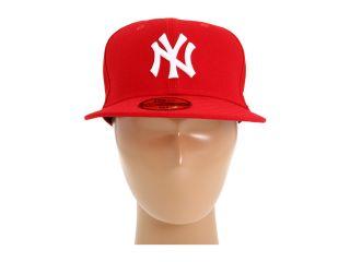 New Era 59FIFTY® New York Yankees Scarlet/White