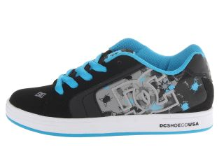 DC Kids Net SE (Little Kid/Big Kid) Black/Turquoise