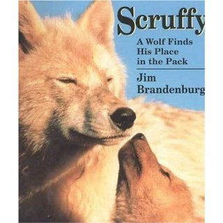 Scruffy: A Wolf Finds His Place in the Pack: Jim Brandenburg: 9780802776020: Books