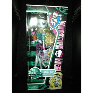 Monster High Skull Shores Lagoona Blue Doll: Toys & Games