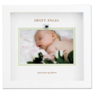 Lawrence Frames Sweet Angel sent from above Wood 6x4 Picture Frame   Single Frames