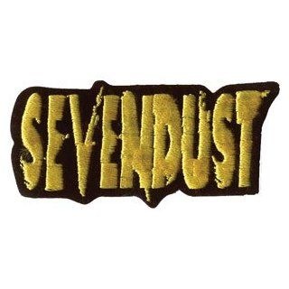 Sevendust Logo Embroidered Patch: Music Fan Apparel Accessories: Clothing