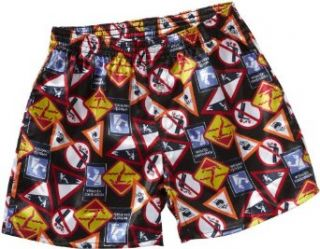 Skiny Jungen Boxershort SKINY Boxer Selection Boys/ 1048 Boys Boxer Shorts, Gr. 128, Mehrfarbig (2632 SIGN BLACK): Bekleidung