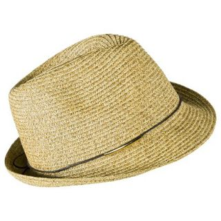 Mossimo Fedora Hat with Brown Tie   Light Brown