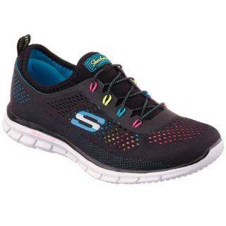 Skechers Womens Glider Bungee Stretch Fit Sneaker 864961
