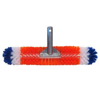 Blue Wave Brush Around 360 Degree 19 in Nylon Wall Pool Brush