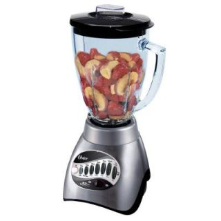 Oster 12 Speed Blender with 6 Cup Plastic Jar in Brushed Nickel 006811 C00 NP0