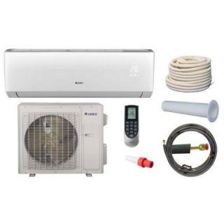 GREE Vireo 30,000 BTU 2.5 Ton Ductless Mini Split Air Conditioner and Heat Pump Kit   208 230V/60Hz VIR30HP230V1AKIT