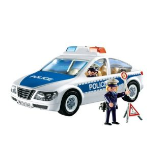 Playmobil Police Car with Flashing Light   17582850