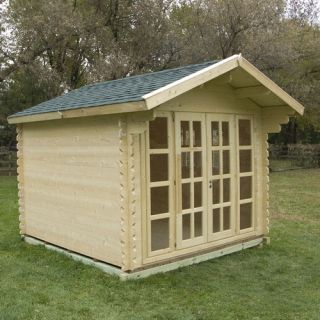 outdoor living today spacesaver 8 5ft w x 4 5ft d wood lean to shed