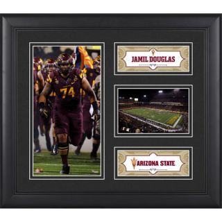 Fanatics Authentic Jamil Douglas Arizona State Sun Devils Framed 15 x 17 Collage