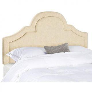 Safavieh Kerstin Arched Linen Headboard   Queen   7834445