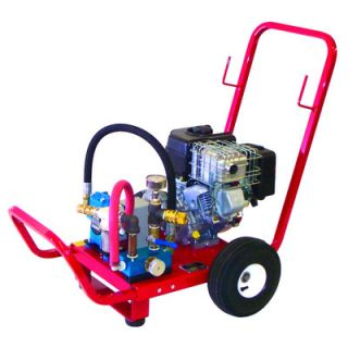 Wheeler Rex 6.5 HP Gas Powered Twin Piston Hydrostatic Test Pump