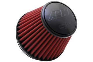"""AEM 21 210EDK   7.5"""" Base, 5.125"""" Top, 6"""" Height 6"""" Flange   Air Filters   Universal Fit"""