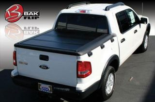 BAK Industries   BAKFlip HD Hard Folding Tonneau Cover   Fits 98.0 in ./8 ft. 2 in. Bed and also With Cargo Channel System