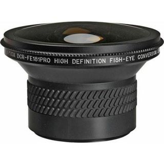 Raynox DCR FE 181 Pro HD 180 Degree Fish Eye Lens, 62mm DCR FE181PRO