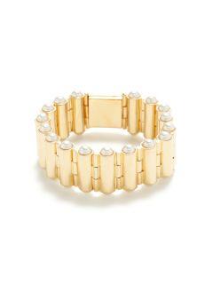 Pearl Bullet Bracelet by CC Skye Jewelry