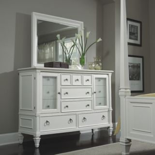 Magnussen Ashby 13 Drawer Combo Dresser with Mirror
