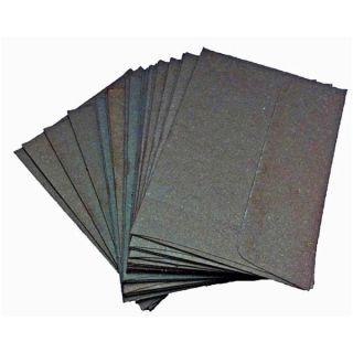 Set of 25 Handmade Elephant Poo Paper A7 Black Envelopes (Sri Lanka