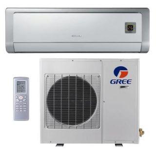 GREE Premium Efficiency 9,000 BTU Ductless Mini Split Air Conditioner with Heat   208/230V/60Hz GWH09ABD3DNA2D