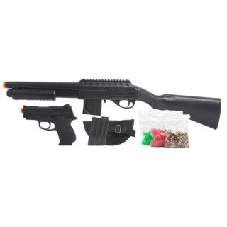 Mossberg Tactical Full Stock Shotgun Kit Black   17117855