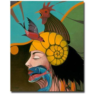 Armando Beyond Me Canvas Art   15764969   Shopping