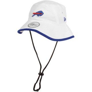 New Era Buffalo Bills Training Bucket Hat   White
