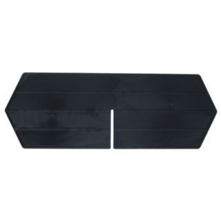 QUANTUM STORAGE SYSTEMS Black Length Divider   Bin Dividers   11M601|LD1265