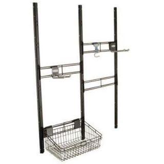 Suncast Hook & Basket Kit For Covington, Alpine, Highland, & Cascade Storage Sheds Model# BMSA3B