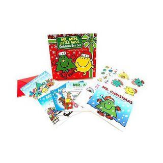 Mr. Men Little Miss Christmas Box Set (Paperback)