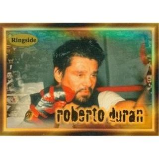 Autograph Warehouse 84408 Roberto Duran Card Boxing 1996 Ringside No . 26