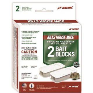 JT Eaton Top Gun Disposable Mouse Bait Station (2 Pack) 932