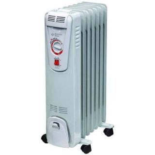 Comfort Zone 1,500 Watt Electric Oil Filled Radiant Portable Heater DISCONTINUED CZ7007