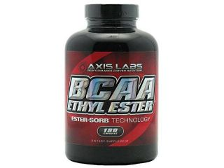BCAA Ethyl Ester, 180 Capsules, From Axis