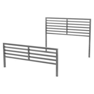 Amisco Theodore Metal Headboard & Footboard