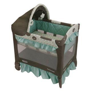 Graco Travel Lite Crib in Winslet   14838084   Shopping