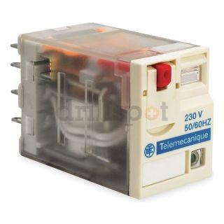Schneider Electric RXM2AB2B7 Relay, 2PDT, 12A, 24VAC Coil