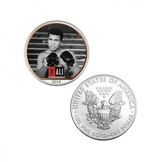 Muhammad Ali Colorized Silver American Eagle with Auto Ship®   8185330