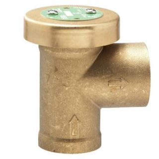1 in. x 1 in. Brass FPT x FPT Anti Siphon Air Admittance Valve 1 188A