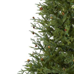 Classic Pine and Pine Cone Christmas Tree   Home   Home Decor